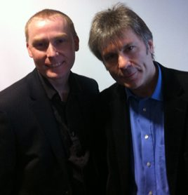 Daniel Latto meets Bruce Dickinson from Iron Maiden