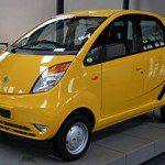 The low-cost Tata Nano (Photo courtesy: Wikipedia)
