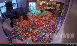 crazy ball prank