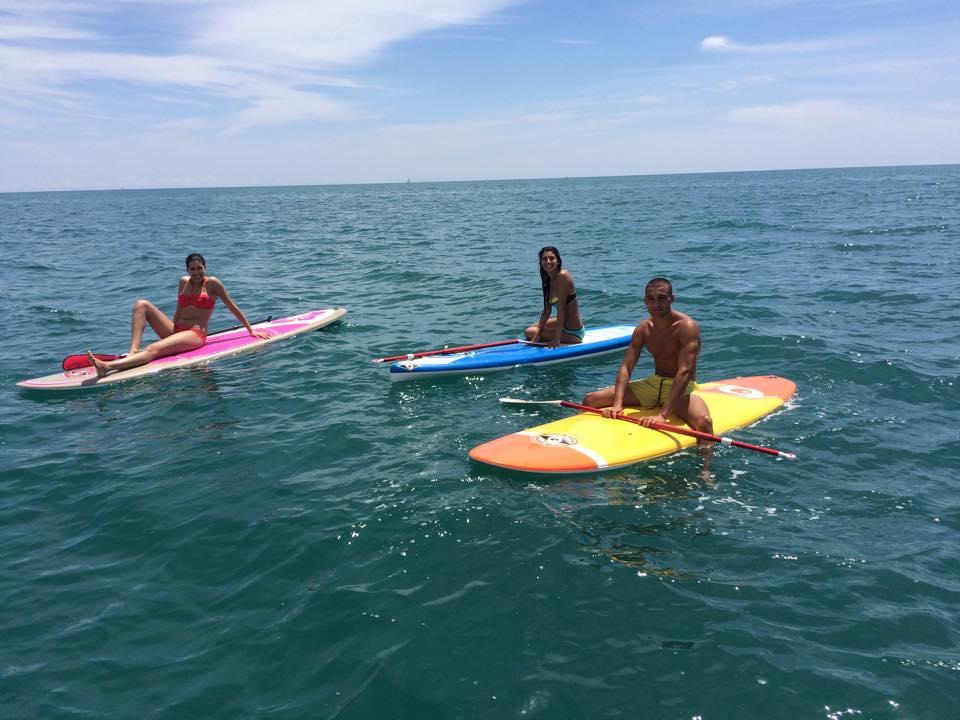 learn paddle boarding