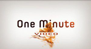 One Minute Video Logo