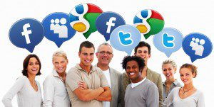 tell customers about your site on social media
