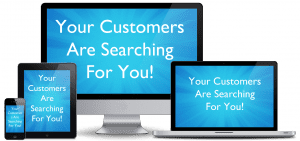 your customers expect to see you online