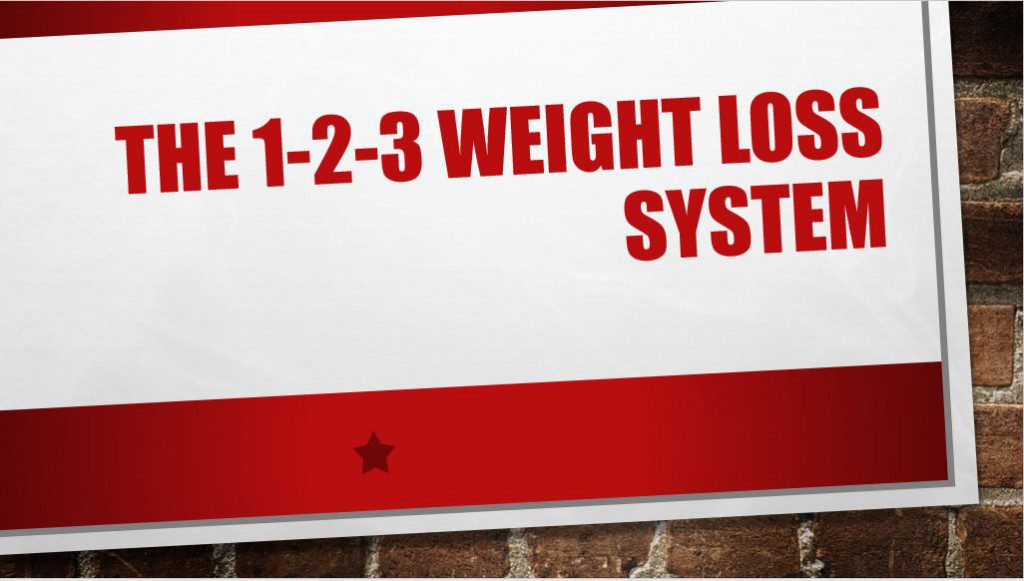 123 weight loss system image
